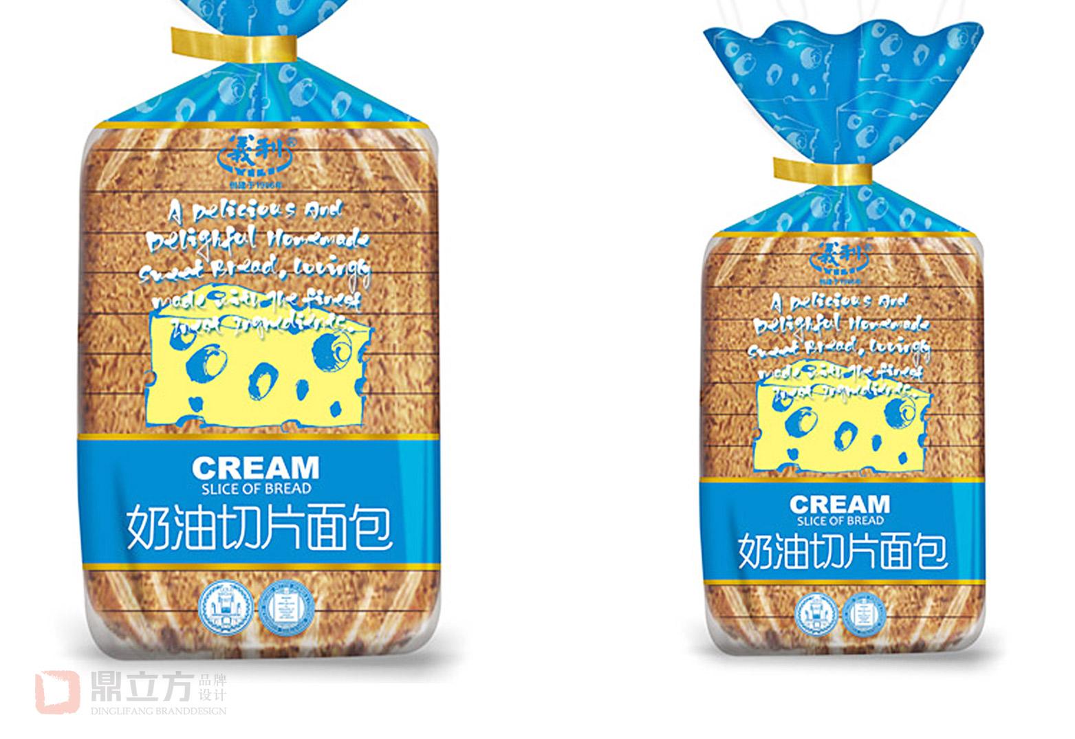 义利面包包装设计